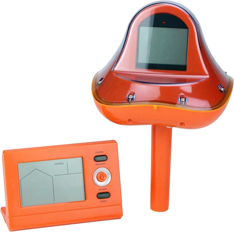 PerGrate Wireless-Thermometer mit LCD-Empfänger Wasserdicht Temperatur Meter für Swimming Pool Spa Hot Tub