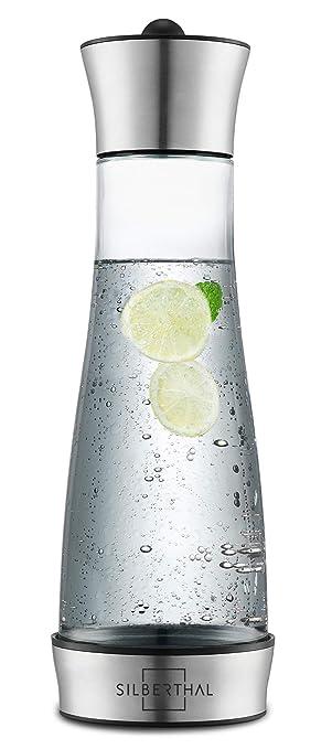 SILBERTHAL Jarra Agua Cristal con Tapa | Jarra Agua Nevera de ...