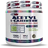 EHPLabs Acetyl L-Carnitine (100g) Weight Loss Support, Energy, Muscle Recovery - 100 Servings