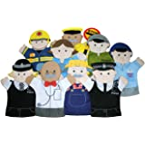 The Puppet Company - People Who Help Us - Set of 9 Hand Puppets