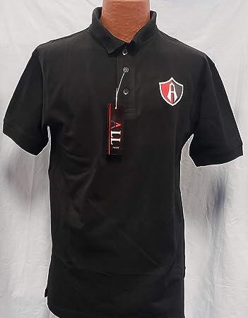 c2c7acbeb0b Amazon.com: Liga MX New! Rojinegros de Atlas Generica Polo Shirt ...