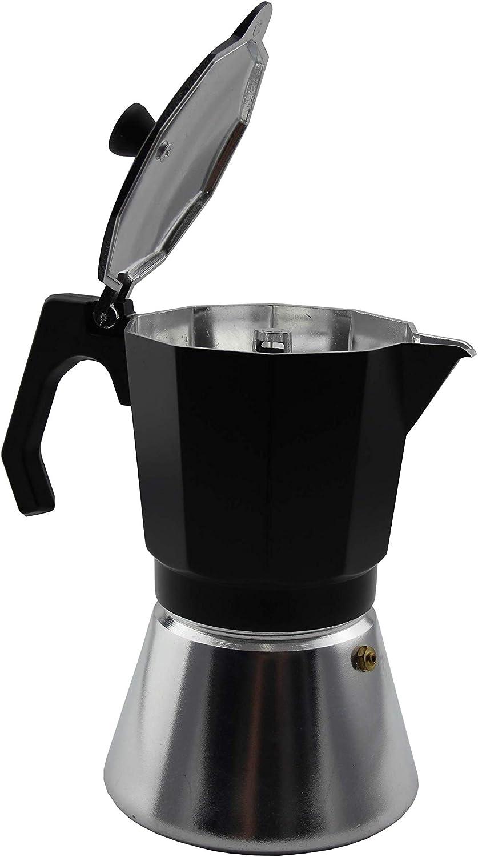 Bastilipo Mokka induction - Cafetera de aluminio Electrica, vitroceramica y gas - Asa aislante y calderín reforzado: Amazon.es: Hogar