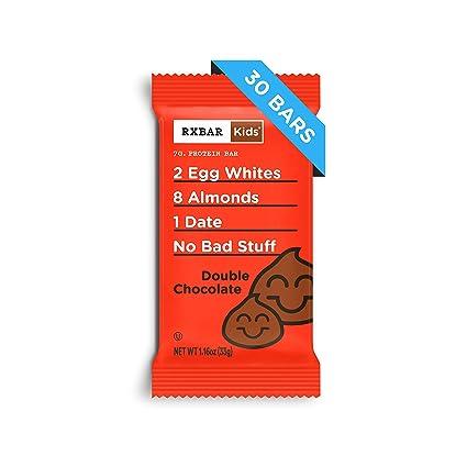 RXBAR - Barra de proteínas de alimentos para niños, doble ...