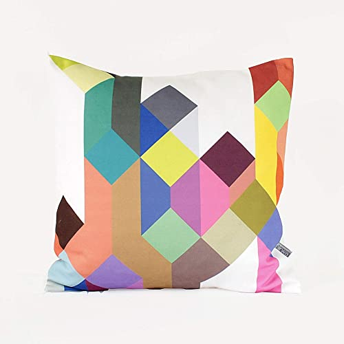 Housewarming Gift Home Gift Quilted Pillow Geometric Pillow Throw Pillow