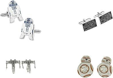 Star Wars StormTrooper Cosplay Cufflinks Boutons de Manchette Bo/îte /à Cadeau