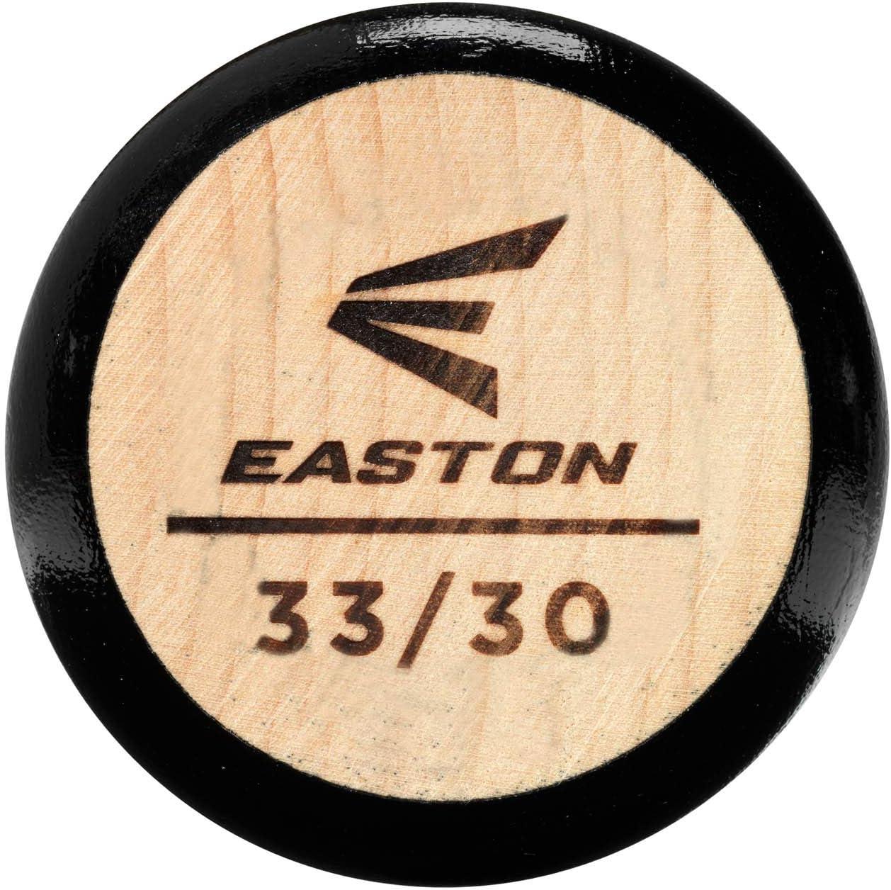 Pro Grade Maple Larger Knob Balanced 2020 Handcrafted in USA Medium Barrel // Handle EASTON Pro 271 Maple Wood Baseball Bat MLB Ink Dot Longer Taper
