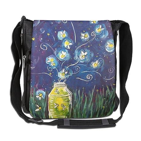 937a1ccdb15e Amazon.com: Men Wowen Outdoor Messenger Bag Amazing Glowworm School ...