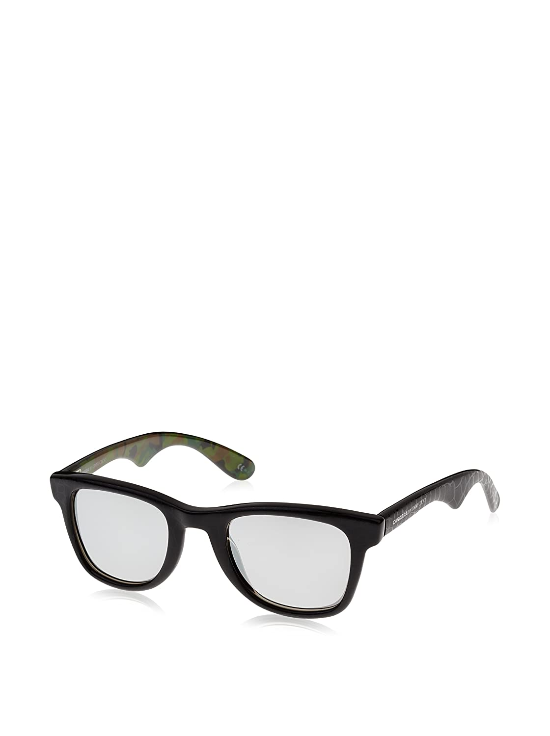 One Size Carrera by Jimmy Choo CARRERA6000 CARRERA6000//JCM/_OGY-50 Carrera Mens 6000JCM//S Sunglasses Black Gray Camo//Gray SP Silver