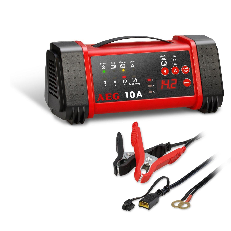 AEG Automotive 97025 Mikroprozessor-Ladegerä t LT 20 Ampere fü r 12 und 24 V Batterien, 9-stufig, Power-Supply und automatischer Temperaturausgleich, LT20