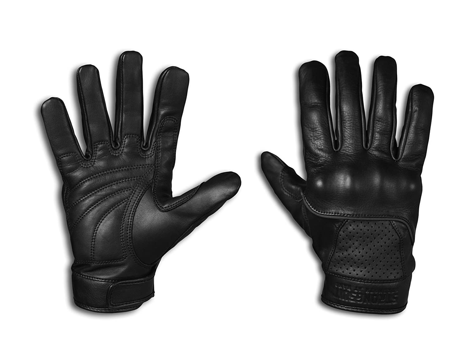 Motorcycle leather gloves amazon - Strongsuit 20300 L Voyager Leather Motorcycle Gloves Large Work Gloves Amazon Com