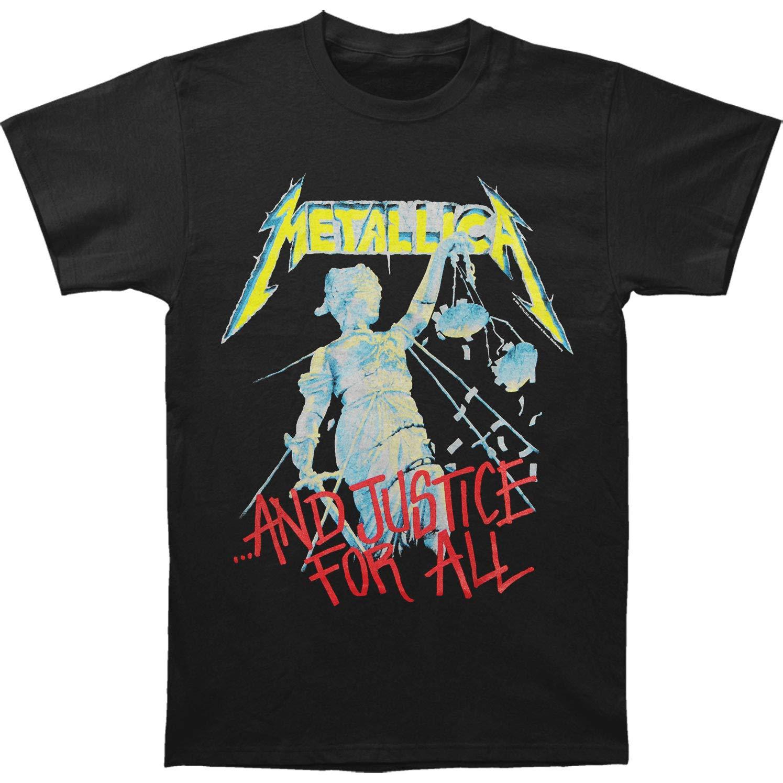 Metallica S Justice Tshirt Black