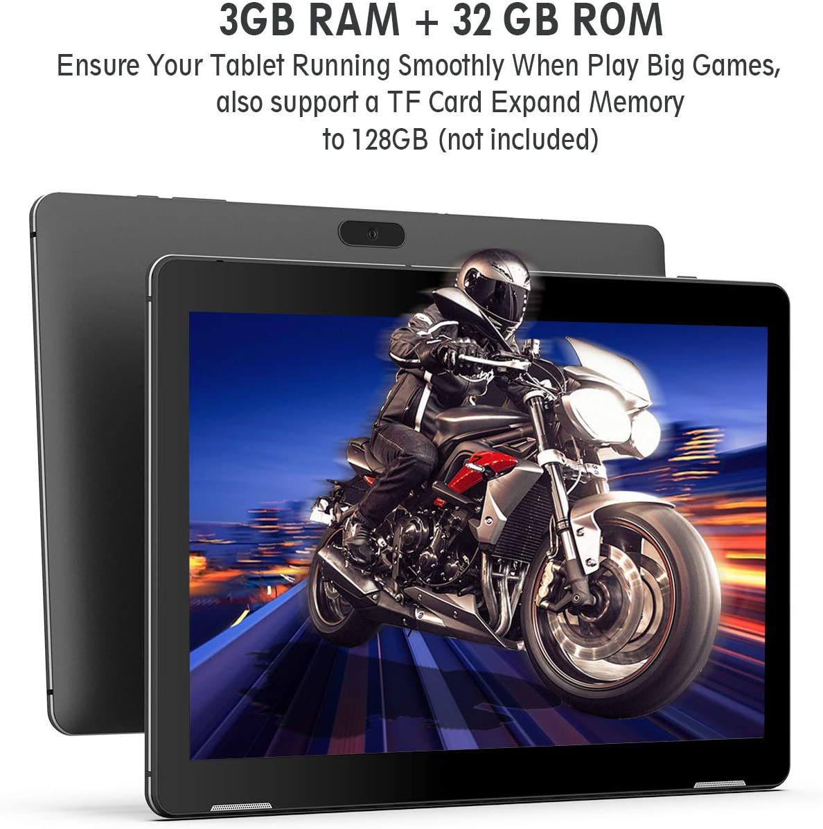 Winnovo Tablet 10 Pulgadas Android 9.0 PC Tablets Quad Core MT8163 ...