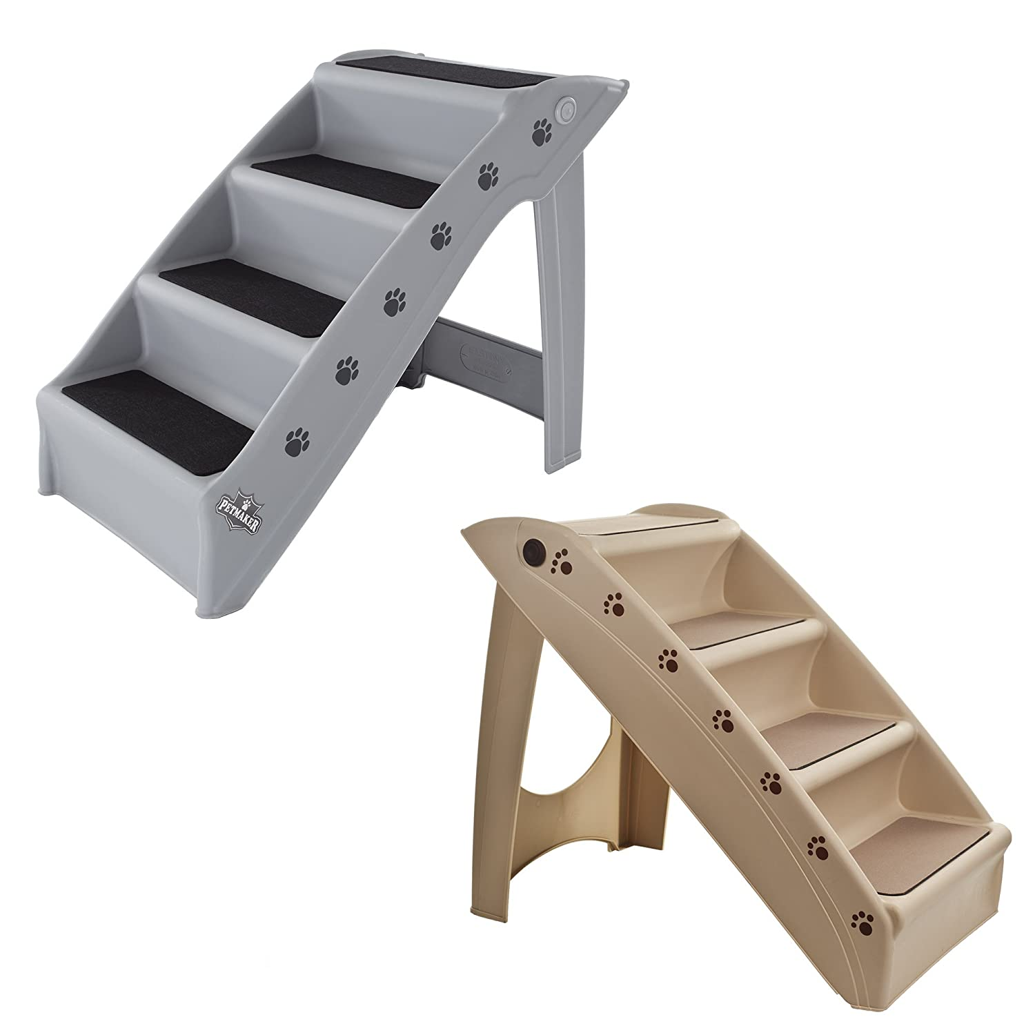 PAW Foldable Pet Staircase Trademark - Pet Products 82-YJ5131