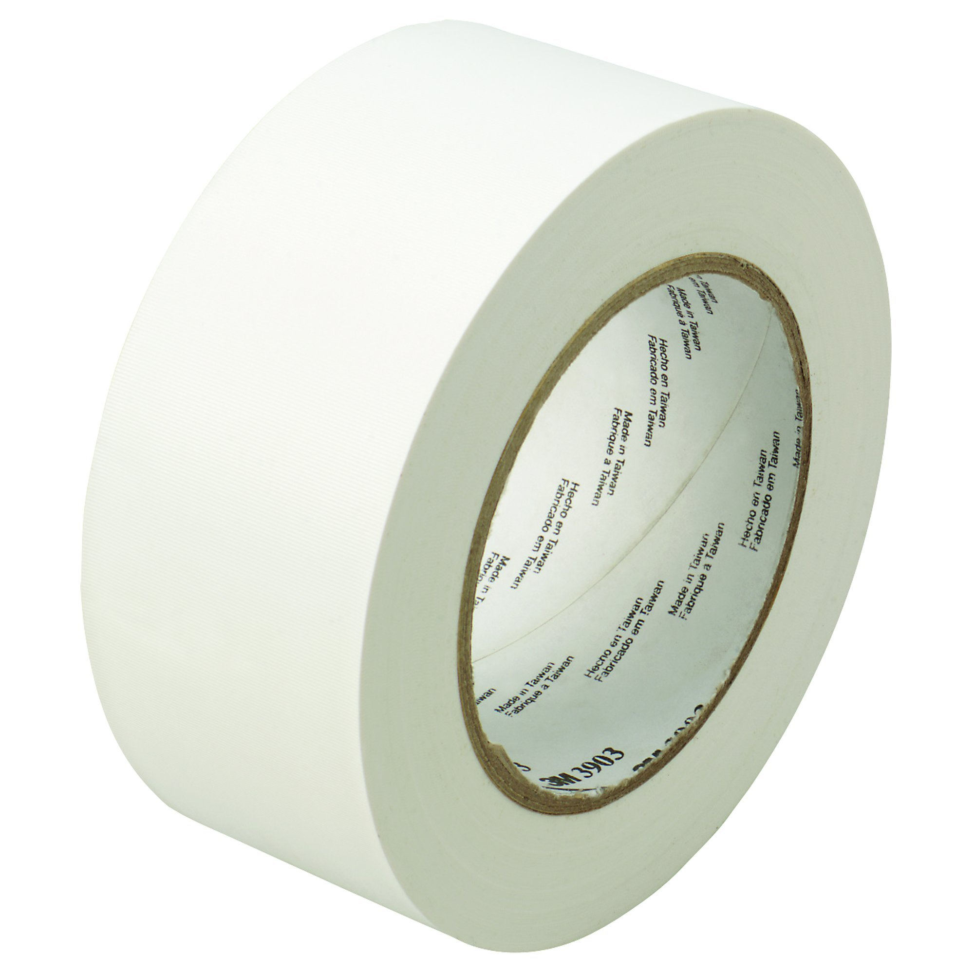Partners Brand PT98739033PKW White 3M 3903 Duct Tape, 50 yd. Length, 2'' Width (Pack of 3)
