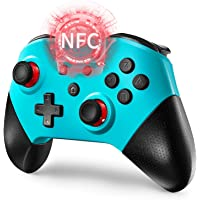 Comdigio Pro Wireless Switch Controller Gamepad Joystick with NFC and Home Wake-Up Function (Blue)