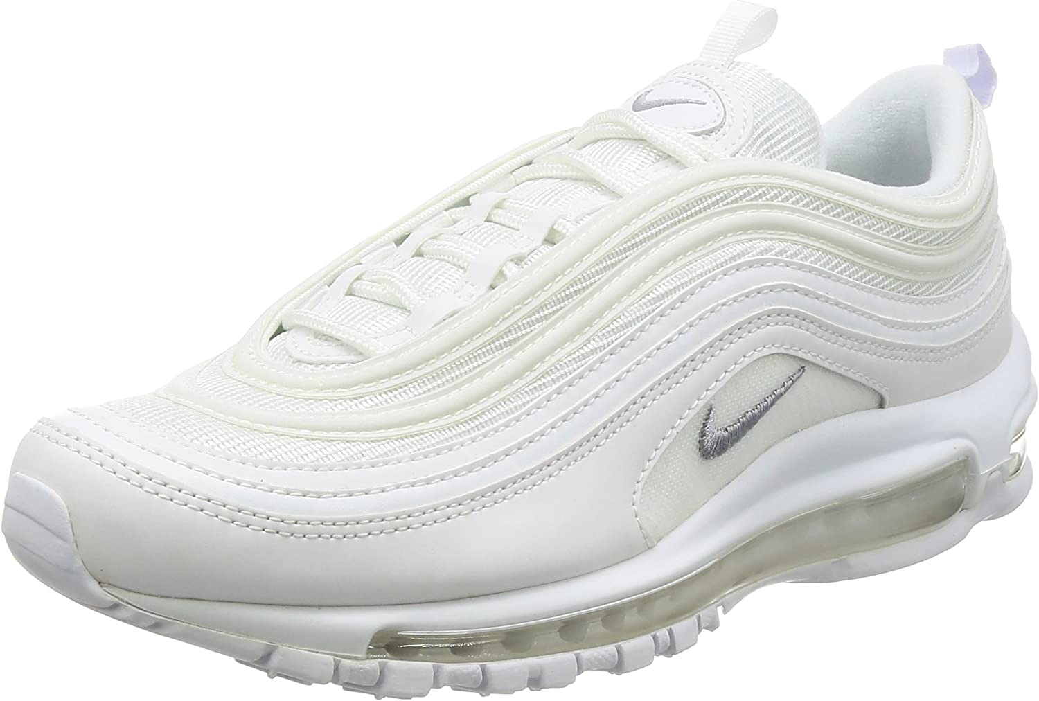 Nike Air Max 97 Men s Shoes White Wolf Grey Black 921826-101