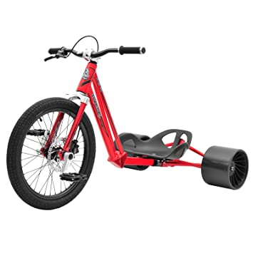 Triad Syndicate 2 Drift trike, Syndicate 2, Red/Polished
