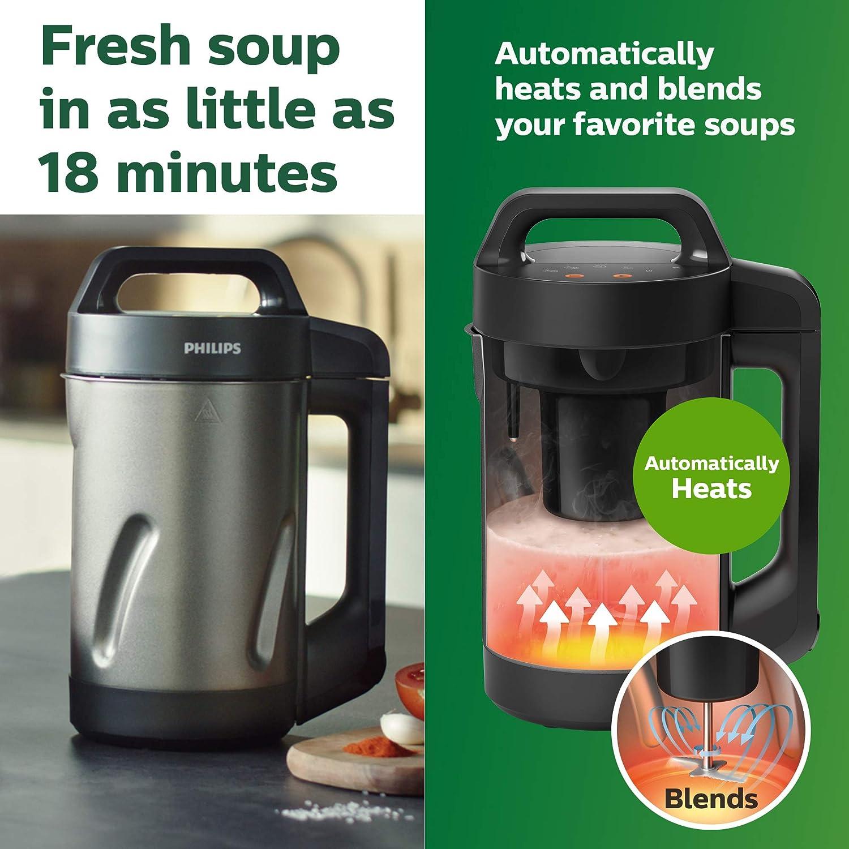 Black Viva Collection 1.3-Quart Soupmaker Philips