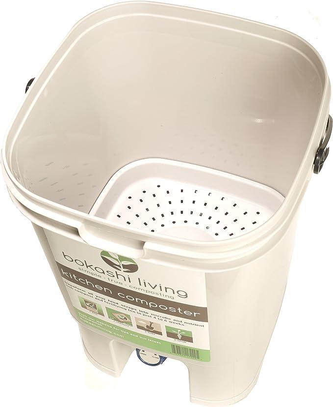 Amazon.com: Bokashi Kit de iniciación de compostaje (incluye ...