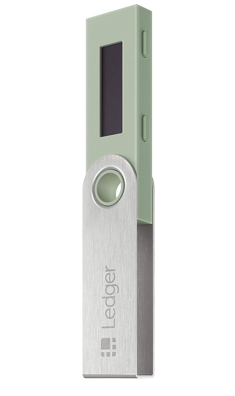 Ledger Nano S - V1.4 - Monedero Hardware de criptomonedas - Jade Green