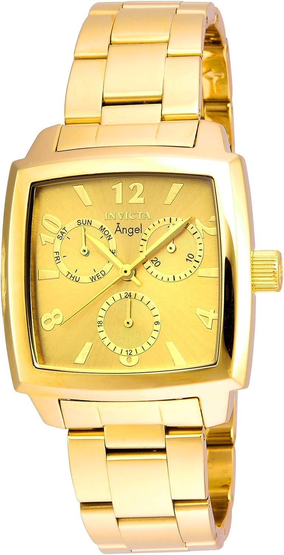 インビクタWomen 's ' Angel ' QuartzステンレススチールCasual Watch , Color : gold-toned (モデル: 21710?)