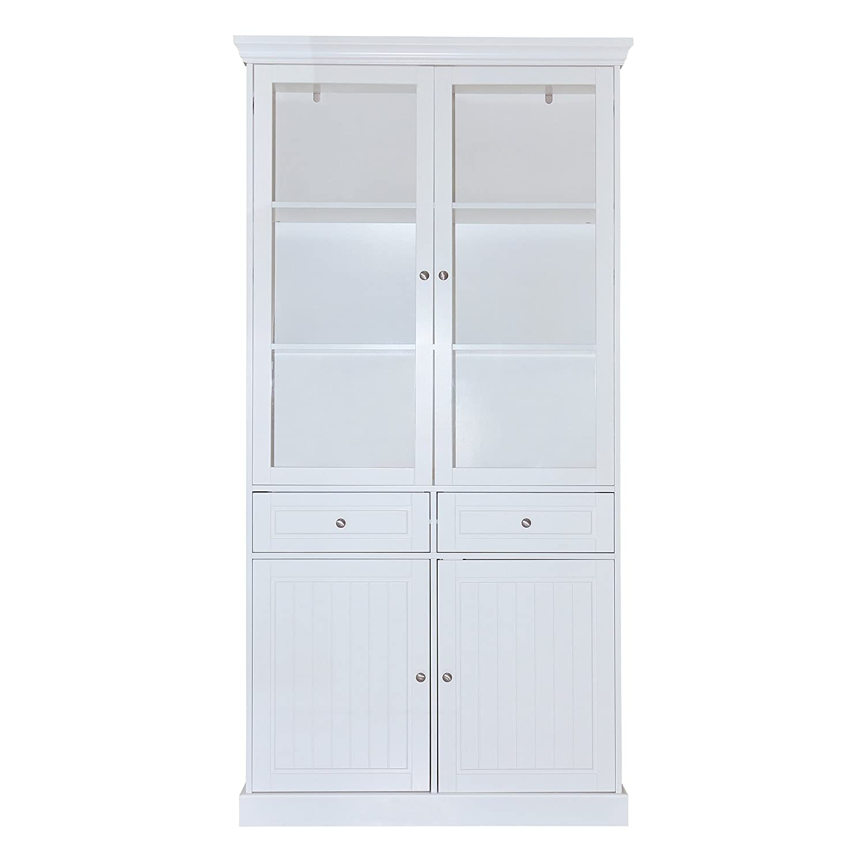 Furniture 247 - Intu Vitrine - Weiß