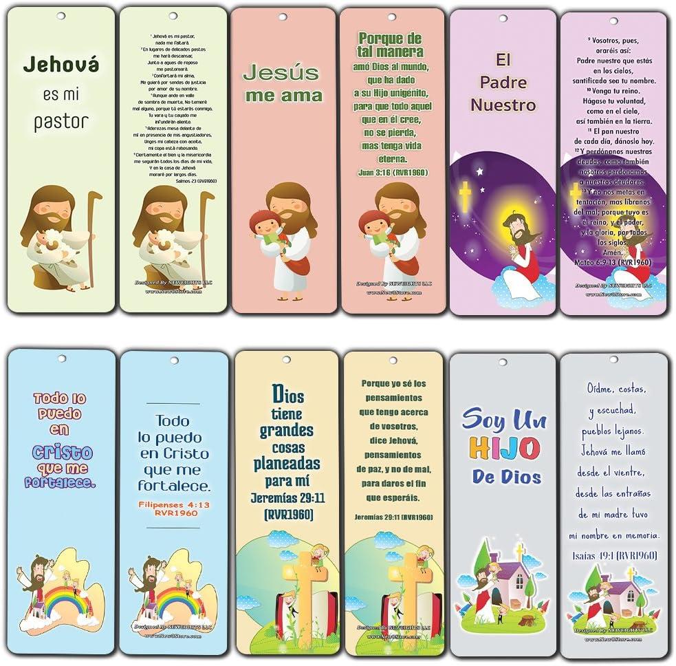 Marcapáginas para niños, diseño de Biblia Española: Amazon.es: Oficina y papelería