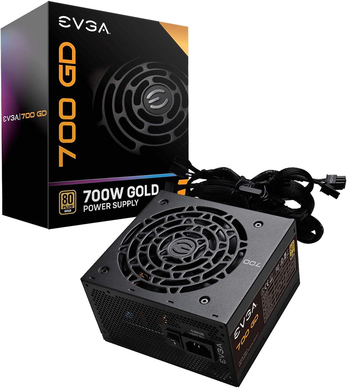 Power Supply 100-GD-0700-V2 5 Year Warranty 80+ GOLD 700W EU EVGA 700 GD