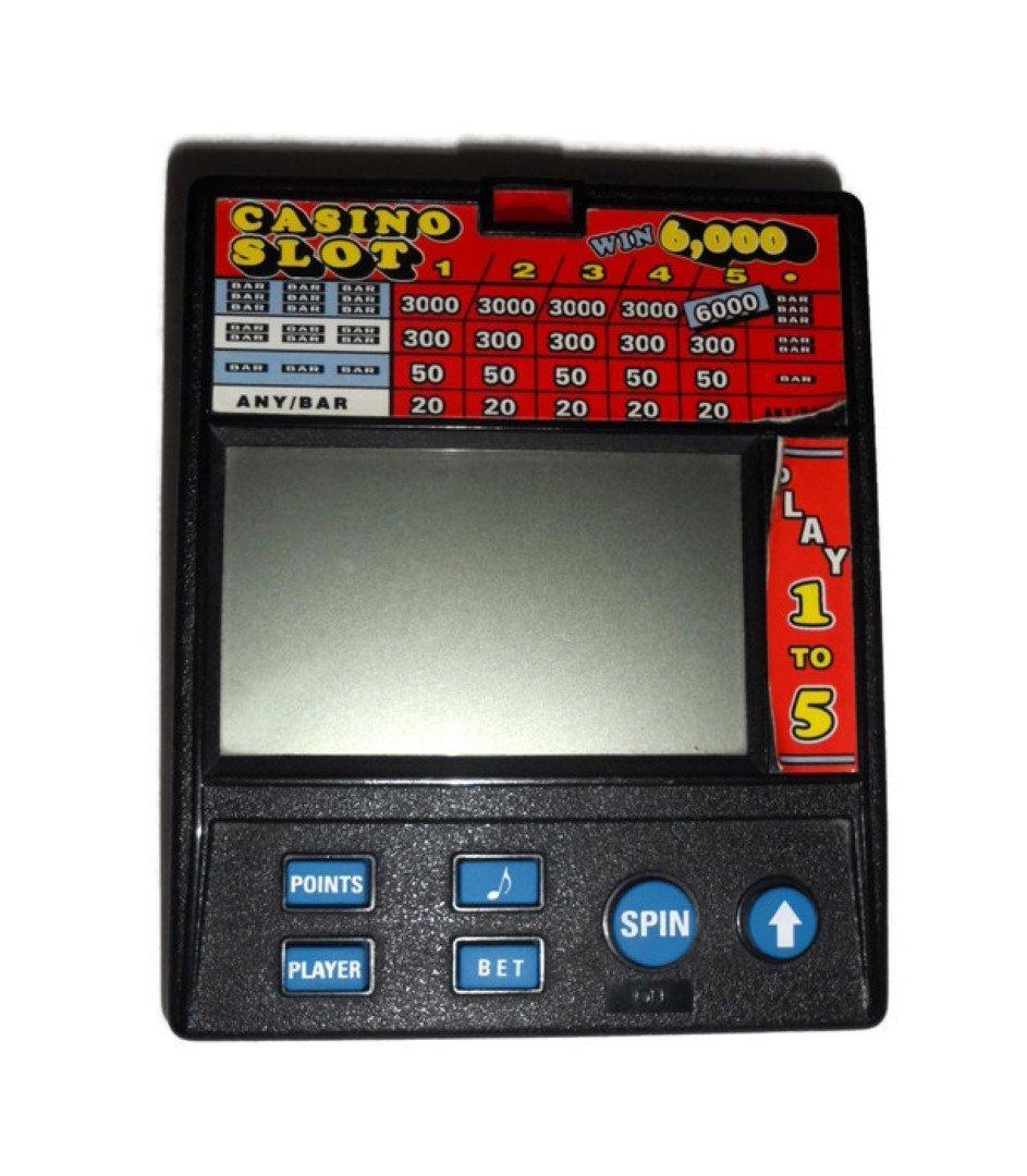 RADICA KENO 1000 Handheld #1380 HANDHELD 1-5 spot RARE