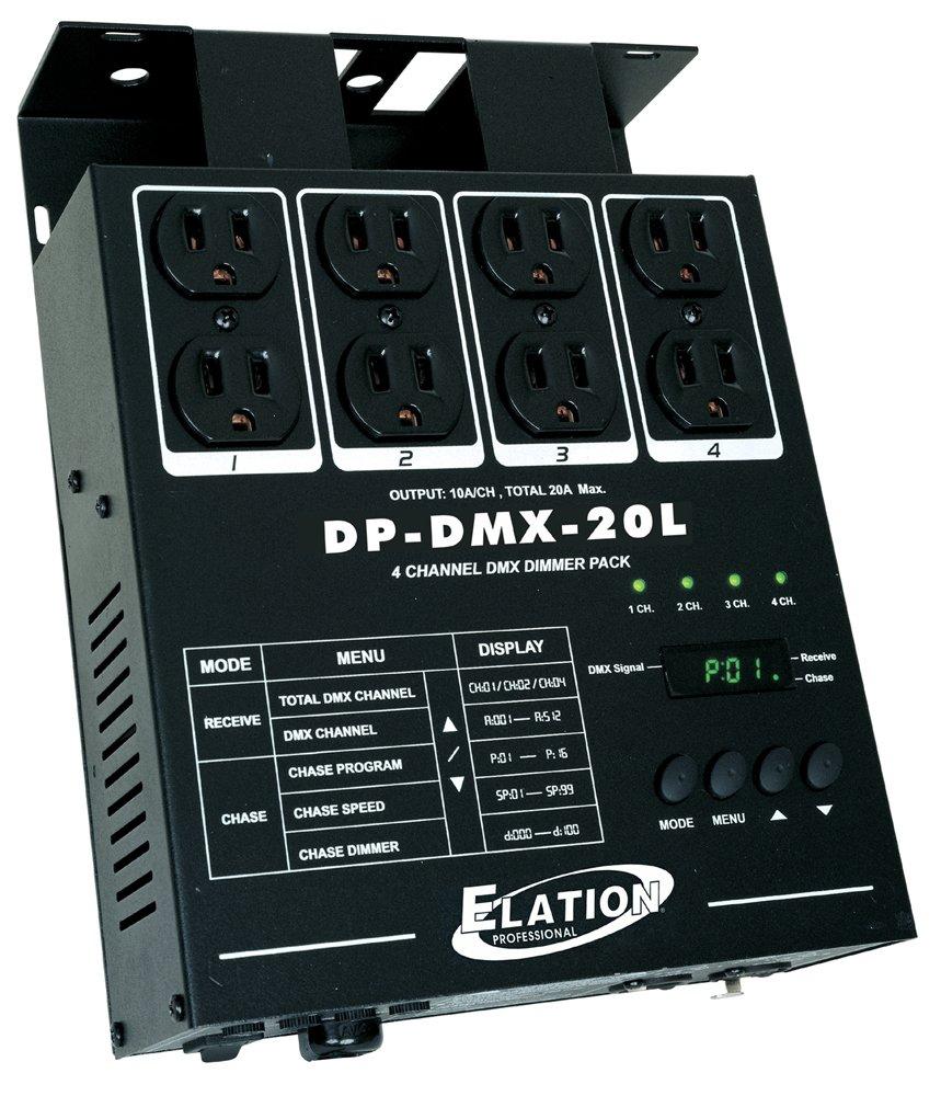 ADJ DP DMX20L 4 Chanel Dimmer Pack