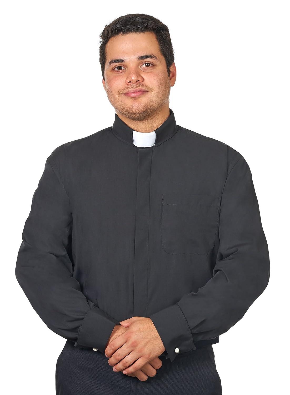 Mens Tab Collar Clergy Shirt Long Sleeves At Amazon Mens Clothing
