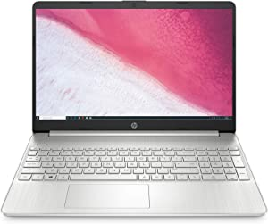 HP 15-inch HD Laptop, AMD Ryzen 3 3200U Processor, 8 GB RAM, 256 GB SSD, Windows 10 Home (15-ef0021nr, Natural Silver) (Renewed)