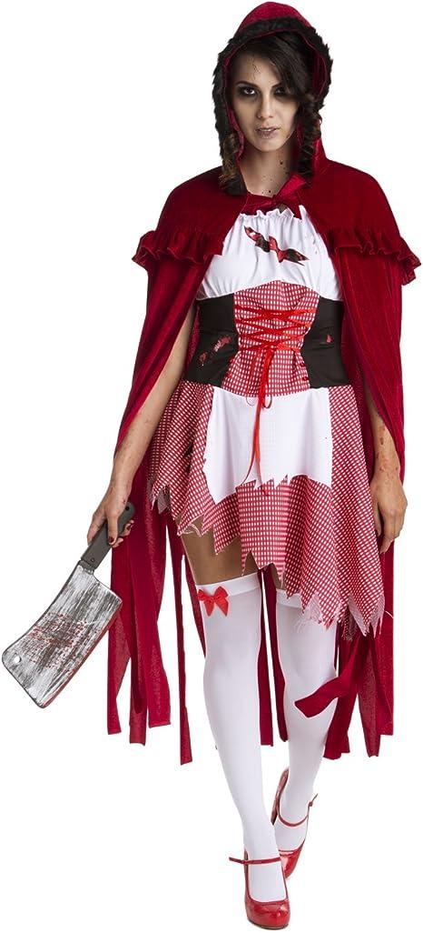 Mujeres Disfraz de Caperucita Roja Caperucita Roja de Libro de ...