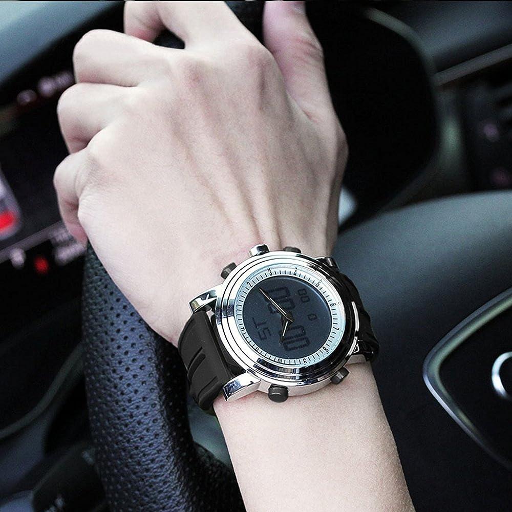 SINOBI S9368G - Reloj Digital para Hombre, con Alarma, cronómetro ...