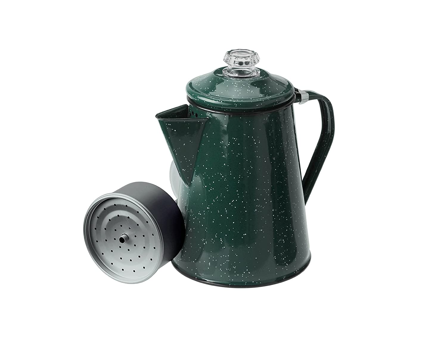 GSI Outdoors 15154 8 Cup Blue Enameled Steel Percolator