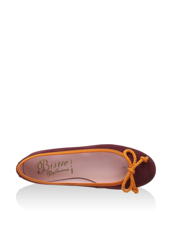 Bisué Damen Ballerina Orange Burgunder Orange Ballerina 35 EU e2fbf4