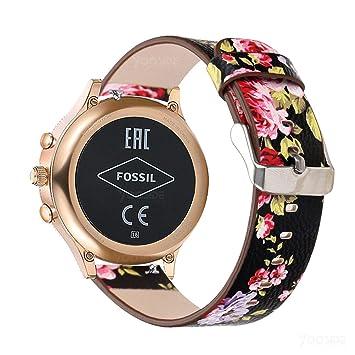 YOOSIDE para Fossil Q Venture Correa de Reloj, 18 mm de liberación ...