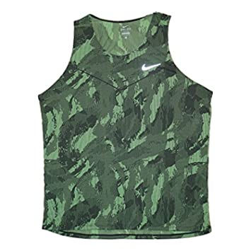 2682bd14e08656 Amazon.com  Nike Fractual Racing Men s Running Singlet Shirt  Clothing