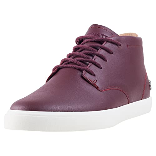 047d867f7 Lacoste Espere Chukka 317 1 Burgundish Mens Boots  Amazon.co.uk ...