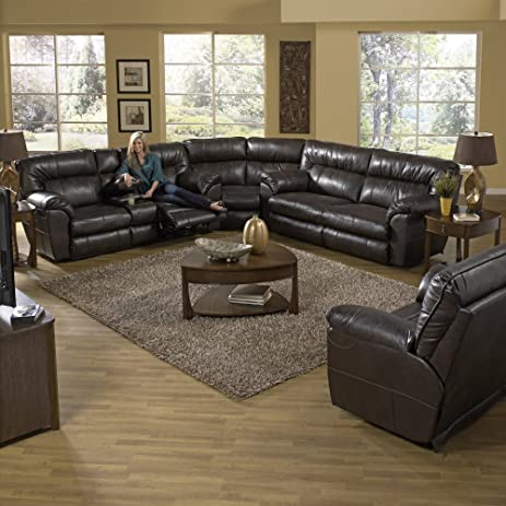 Catnapper Nolan Leather Reclining Sectional - & Amazon.com: Catnapper Nolan Leather Reclining Sectional -: Kitchen ... islam-shia.org