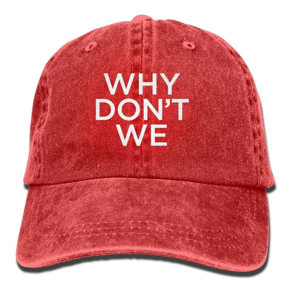 WHY DON'T WE Unisex Adult Adjustable Retro Dad Hats
