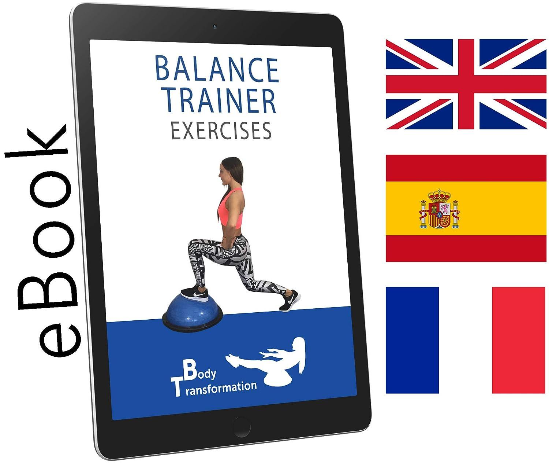 Domo de Ejercicio + App de fitness + e-book en español: Amazon.es: Deportes y aire libre