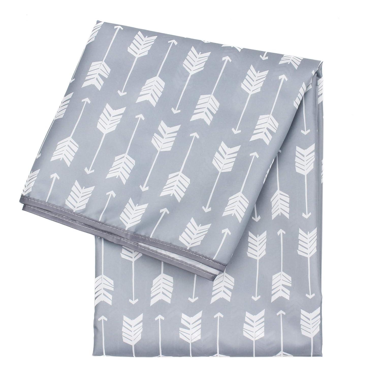 Poisson,110 * 110cm Chaise Haute Splash Mat pour B/éb/é,Splash Tapis Anti-/éclaboussures Chaise Haute Lavable Pliable Tapis pour les B/éb/é en Bas /âge
