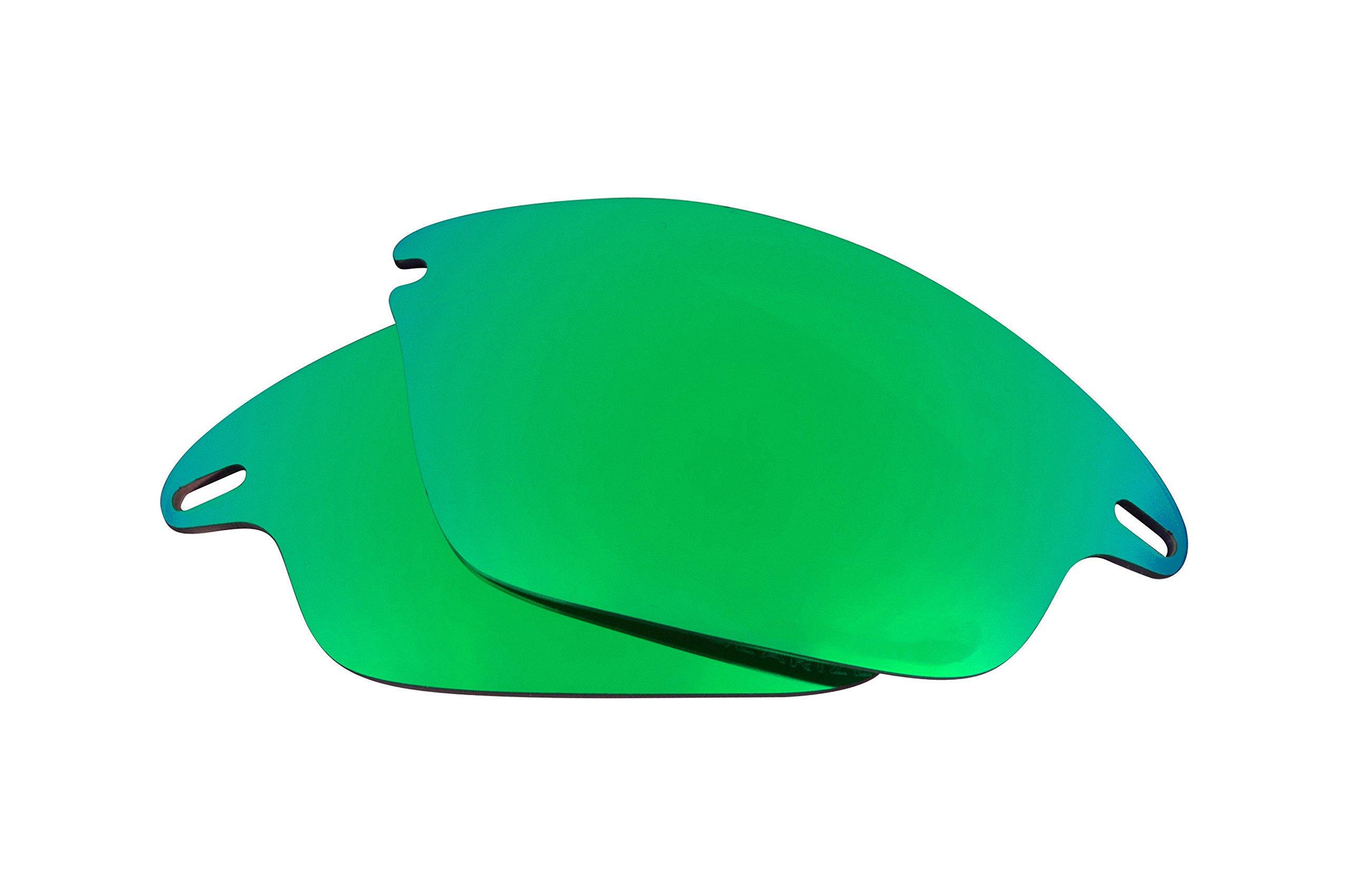 Best SEEK Replacement Lenses Oakley FAST JACKET - Polarized Green