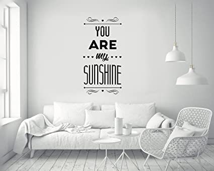 Remarkable Amazon Com Quotes Art Decals Vinyl Removable Stickers You Interior Design Ideas Helimdqseriescom