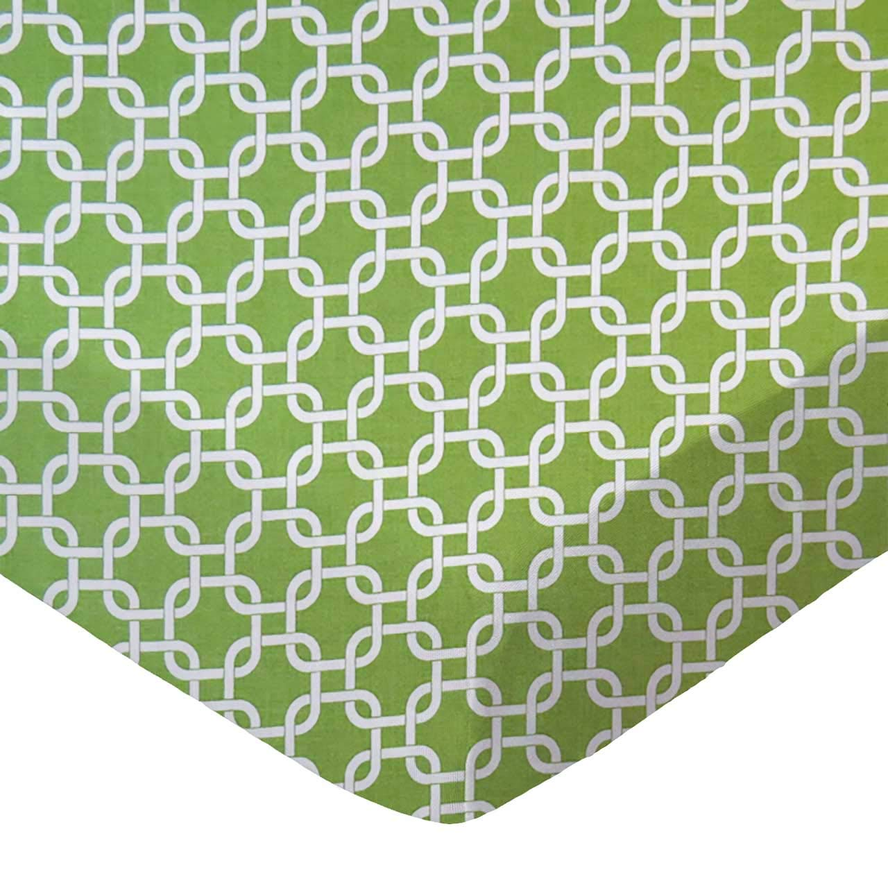 SheetWorld Fitted Cradle Sheet - Citrus Links - Made In USA by sheetworld   B00NB25XAG