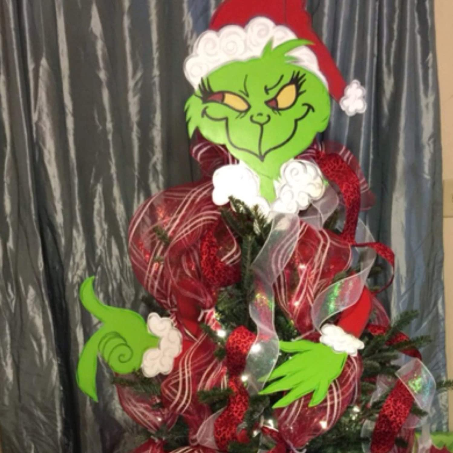 Grinch Christmas Tree Topper Grinch Ornament Blog Juhll Com