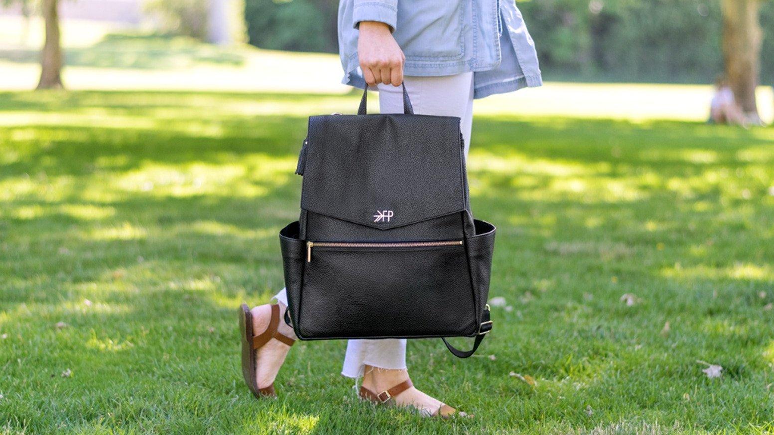 Freshly Picked | Ebony Diaper Bag | Ebony Black