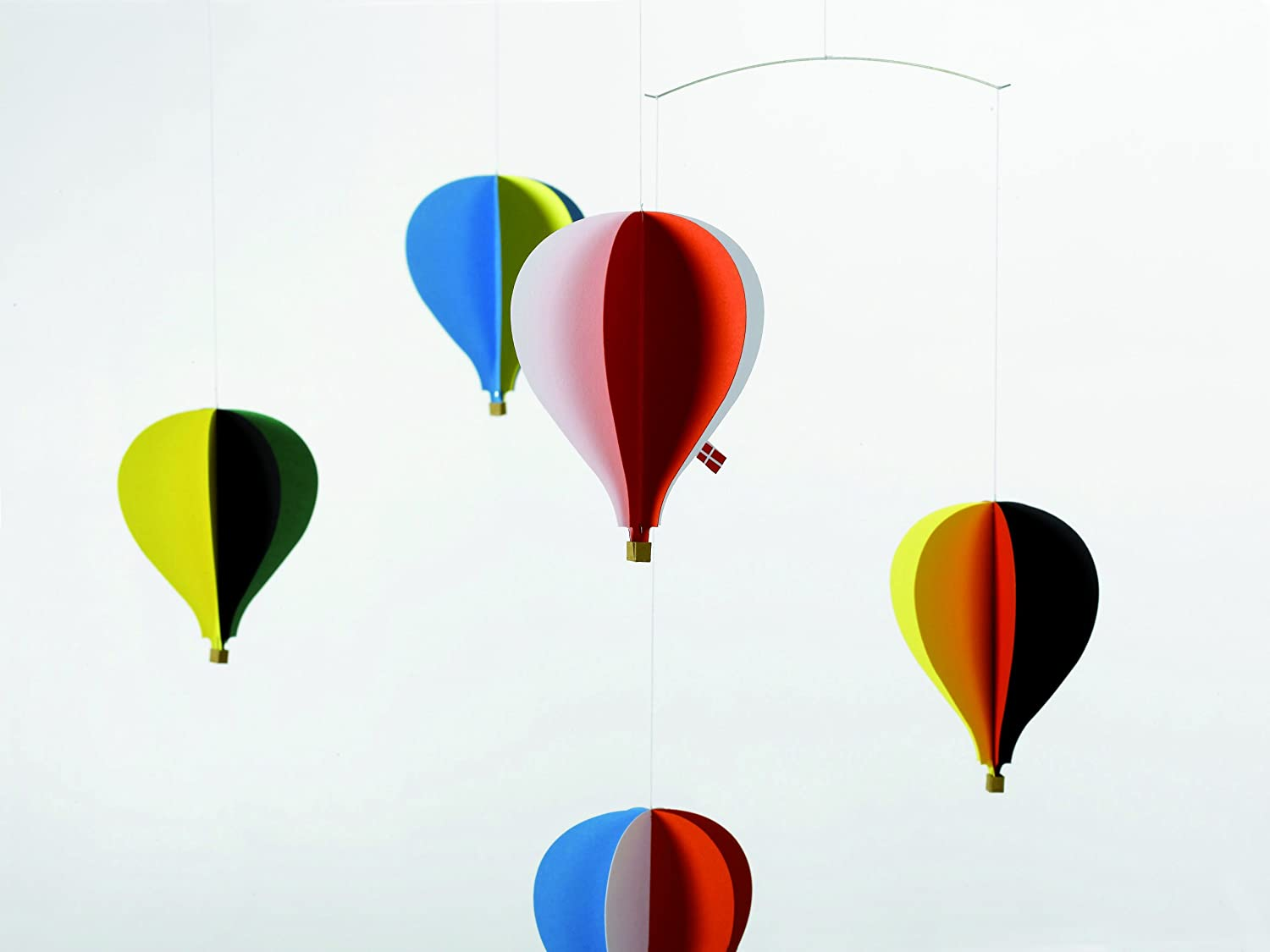 amazoncom  flensted mobiles  balloon hanging nursery mobile  - amazoncom  flensted mobiles  balloon hanging nursery mobile   inchescardboard  baby mobile for crib  baby