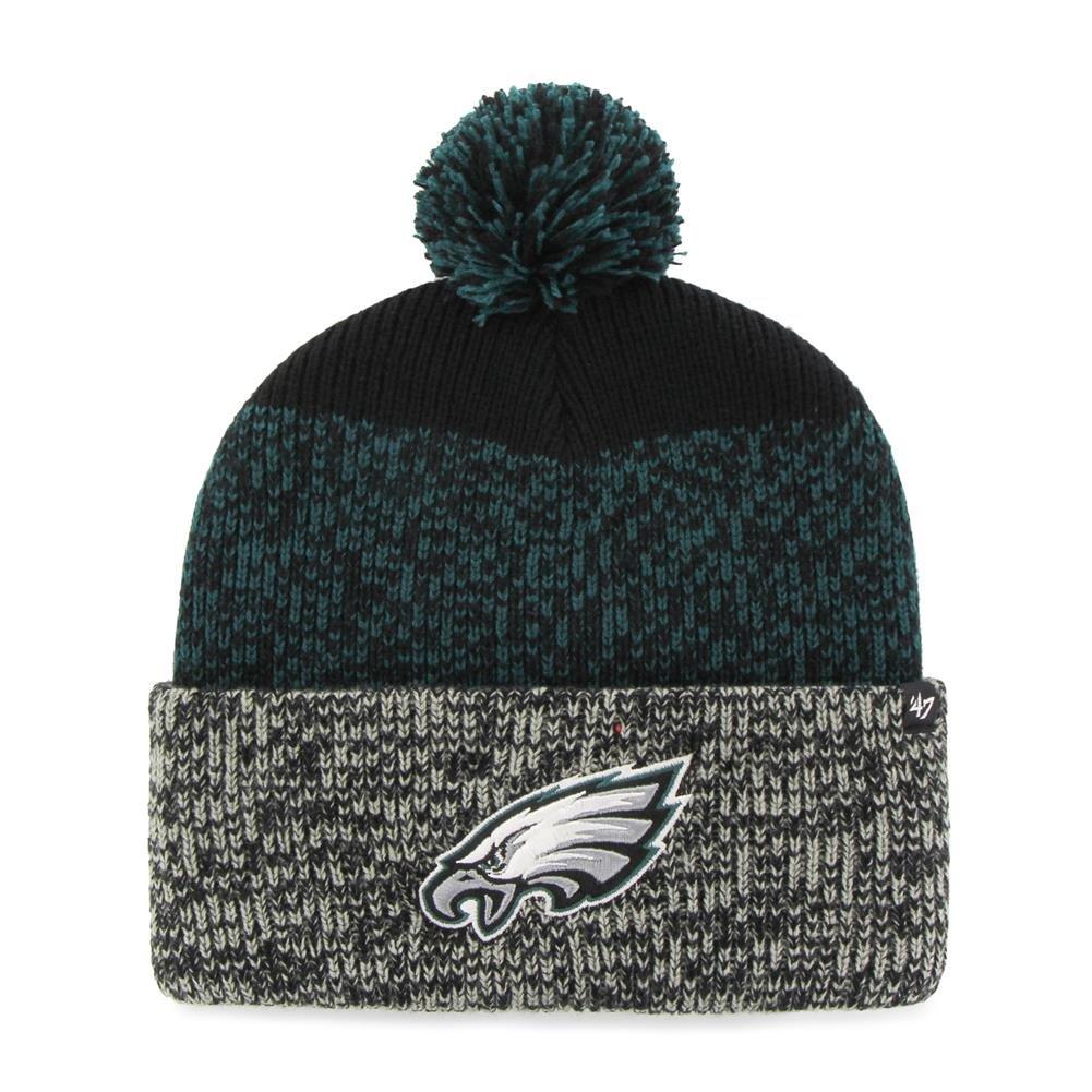 fcb628715338d Amazon.com    47 Philadelphia Eagles Beanie Static Cuff Knit Hat   Sports    Outdoors